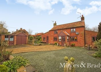 Thumbnail 3 bed detached house for sale in The Street, Knapton, North Walsham