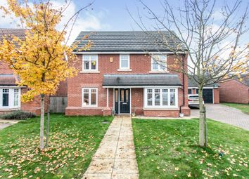 Thumbnail 4 bed detached house for sale in All Saints Grove, Whitley, Goole