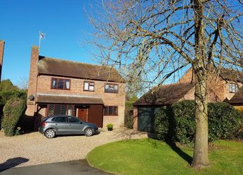 Thumbnail 4 bed detached house for sale in Walnut Close, Harvington, Evesham, Worcestershire