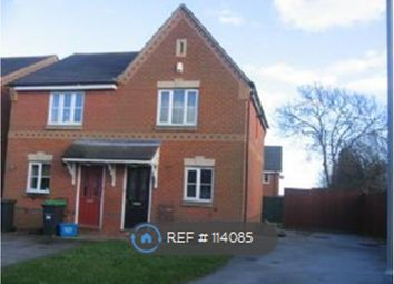 Thumbnail 2 bed semi-detached house to rent in Grendon Way, Mansfield