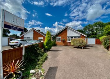 Thumbnail 3 bed bungalow for sale in Charnwood Close, Leicester Forest East, Leicester