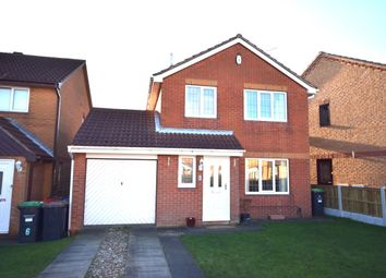 Thumbnail 3 bed detached house for sale in Bamburgh Close, Kirkby-In-Ashfield, Nottingham