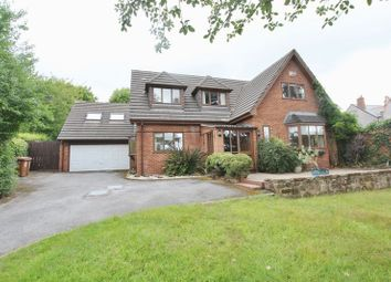 Thumbnail 4 bed detached house for sale in Delavor Road, Lower Heswall, Wirral