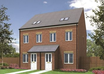 "Thumbnail 3 bed town house for sale in ""The Sutton"" at Valleydale, Brierley Road, Blyth"