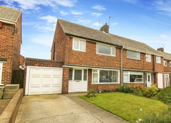 Thumbnail 3 bed semi-detached house for sale in Thorntree Close, Whitley Bay