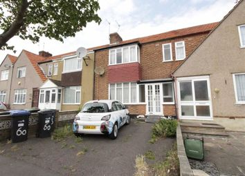Thumbnail 3 bed terraced house to rent in Ashford Crescent, Enfield, Middlesex
