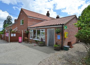 Thumbnail 3 bed semi-detached house for sale in School Lane, Little Melton, Norwich