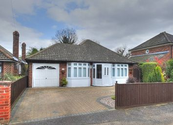 Thumbnail 3 bed detached bungalow for sale in Hammond Way, Sprowston, Norwich