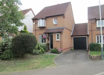 Thumbnail 3 bed detached house to rent in Cavell Crescent, Harold Wood, Romford