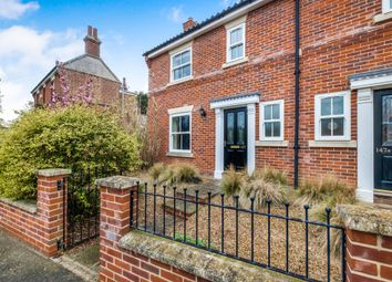 Thumbnail 3 bed semi-detached house for sale in Yarmouth Road, Broome, Bungay