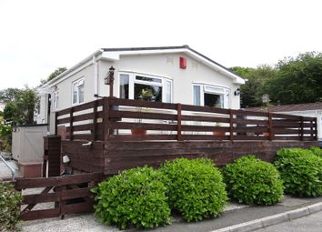 Thumbnail 2 bed mobile/park home for sale in Trewhiddle Park, St Austell