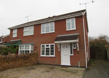 Thumbnail 3 bed semi-detached house for sale in Alyssum Way, Narborough, Leicester