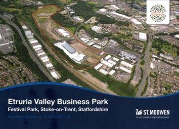 Thumbnail Light industrial for sale in Etruria Valley Business Park, Festival Park, Stoke On Trent, Staffs