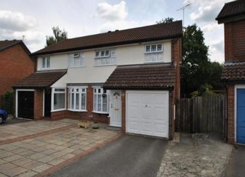 Thumbnail 3 bed semi-detached house to rent in Kesteven Way, Wokingham