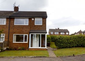 Thumbnail 3 bed semi-detached house for sale in Peveril Close, Whitefield, Manchester