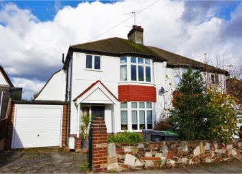 Thumbnail 3 bed semi-detached house for sale in Balder Rise, London