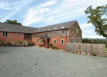 Thumbnail 6 bed barn conversion for sale in Bausley, Crew Green, Powys