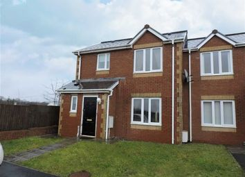 Thumbnail 2 bed end terrace house for sale in Clos Pen Y Waun, Cross Hands, Llanelli