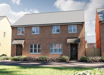 "Thumbnail 3 bed semi-detached house for sale in ""The Studland"" at Pepper Lane, Standish, Wigan"