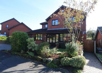 Thumbnail 4 bed detached house for sale in Badger Brow Road, Loggerheads, Market Drayton, Staffordshire