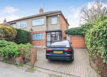 Thumbnail 3 bed semi-detached house to rent in Gubbins Lane, Romford
