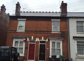 Thumbnail 3 bedroom terraced house to rent in Redhouse Street, Walsall, West Midlands