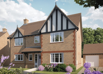 Thumbnail 4 bed detached house for sale in Ombersley Road, Bevere