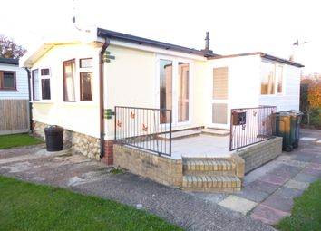Thumbnail 2 bed mobile/park home for sale in Brookgate Mobile Home Park, Bedlam Lane, Egerton, Nr Ashford, Kent