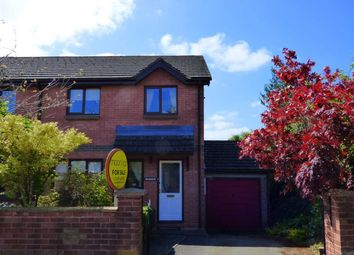 Thumbnail 3 bed semi-detached house for sale in Trelowen, Lawrence Crescent, Caerwent, Caldicot