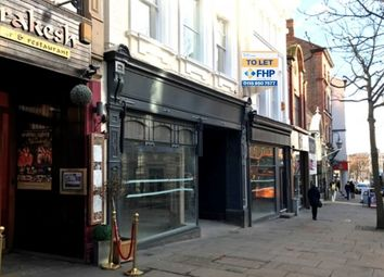 Thumbnail Retail premises to let in 2-4 Chapel Bar, Nottingham, Nottingham