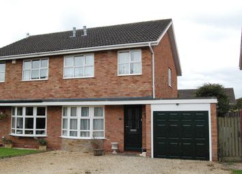 Thumbnail 3 bed semi-detached house for sale in Alice Close, Hereford