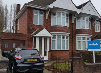 Thumbnail 3 bed semi-detached house for sale in Compton Road, Cradley Heath, West Midlands B645Bb