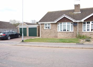 Thumbnail 2 bed semi-detached bungalow to rent in Gainsborough Drive, Lowestoft