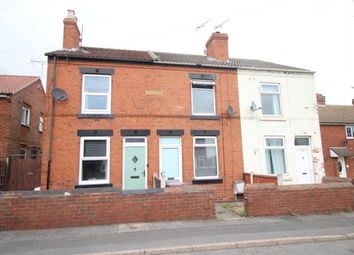 Thumbnail 2 bed terraced house for sale in New Street, Whitwell, Worksop