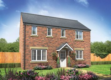 "Thumbnail 3 bedroom detached house for sale in ""The Clayton"" at Norwich Common, Wymondham"
