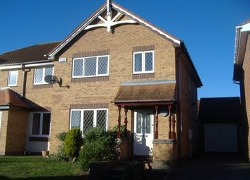 Thumbnail 3 bed semi-detached house to rent in Harefield, East Leake