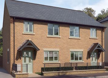 Thumbnail 3 bed semi-detached house for sale in Off Ashby Street, Priors Hall, Rockingham
