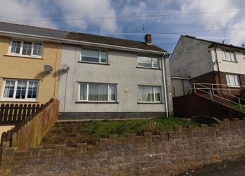 Thumbnail 3 bed semi-detached house for sale in Baillie Smith Avenue, Crumlin, Newport