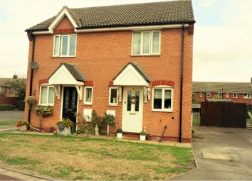 Thumbnail 2 bed semi-detached house for sale in Hayside Avenue, Balderton, Newark