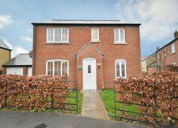 Thumbnail 4 bed detached house for sale in Cassini Drive, Swindon