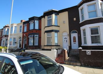 Thumbnail 3 bed terraced house for sale in Carisbrooke Road, Walton, Liverpool