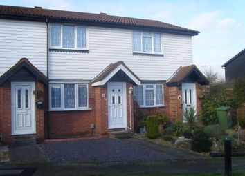Thumbnail 2 bedroom terraced house to rent in Rochford Close, Turnford, Broxbourne, Hertfordshire