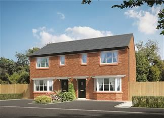 Thumbnail 3 bedroom semi-detached house for sale in The Byron, Park Lane, Netherton, Liverpool