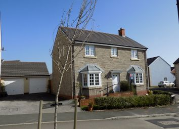 Thumbnail 4 bed detached house for sale in Maes Yr Eithin, Coity, Bridgend.