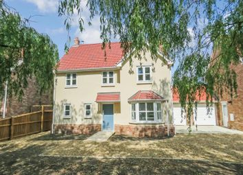 Thumbnail 5 bed detached house for sale in Westfield Road, Manea, March, Cambridgeshire