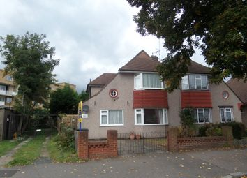 Thumbnail 4 bed semi-detached house for sale in Woodham Road, London
