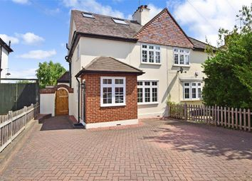 Thumbnail 3 bed semi-detached house for sale in Avenue Road, Woodford Green, Essex