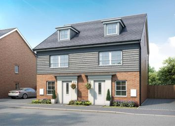 """Thumbnail 4 bed semi-detached house for sale in """"Kingsville"""" at Broughton Crossing, Broughton, Aylesbury"""