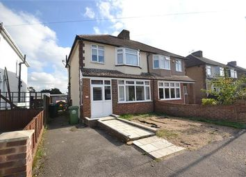 Thumbnail 3 bed semi-detached house for sale in Shortwood Avenue, Staines