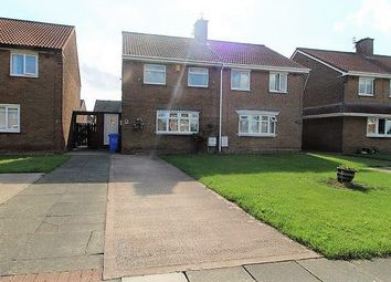 Thumbnail 3 bed semi-detached house for sale in Langley Avenue, Blyth